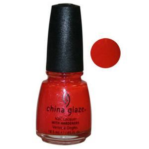 Tarnish & Varnish China Glaze Orange Shimmer Nail Varnish