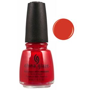 Paint the Town Red China Glaze Red Nail Varnish
