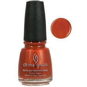 Free Love China Glaze Golden Orange Nail Varnish