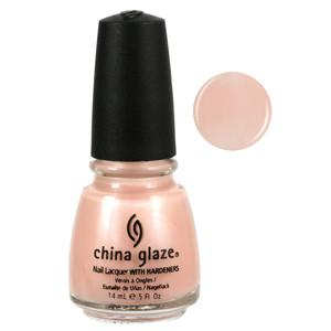 Whisper China Glaze Light Pink Shimmer Nail Varnish