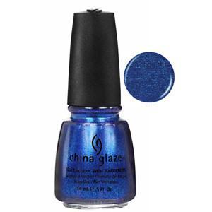 Blue Years Eve China Glaze Blue Glitter Nail Varnish