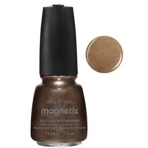 You Move Me Magnetix China Glaze Brown Nail Varnish