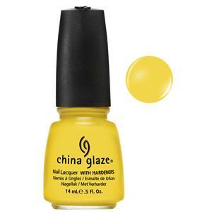 Sunshine Pop China Glaze Yellow Nail Varnish