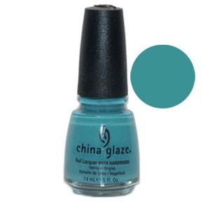 Custom Kicks China Glaze Aqua Green Shimmer Nail Varnish