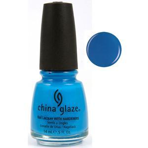 Sky High Top China Glaze Blue Nail Varnish