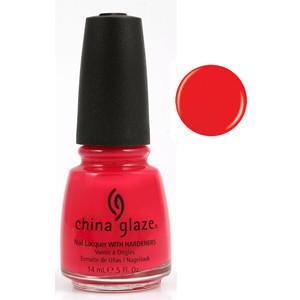 Sneaker Head China Glaze Orange Red Nail Varnish