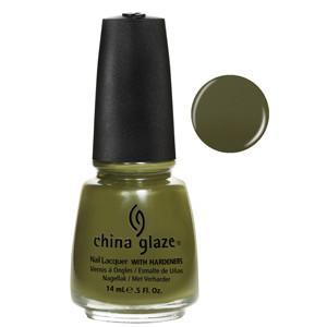 Westside Warrior China Glaze Olive Green Nail Varnish