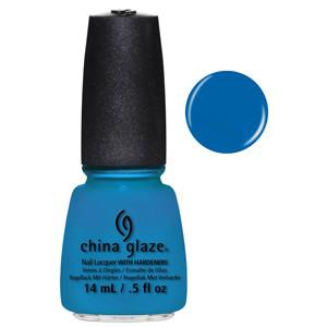 Hanging in the Balance China Glaze Bright Blue Nail Varnish