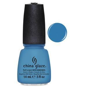 Sunday Funday China Glaze Bright Blue Nail Varnish