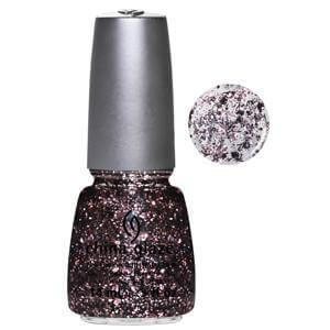 Razzle Me Dazzle Me China Glaze Pink Refelective Glitter Nail Varnish