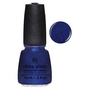Scandalous Shenanigans China Glaze Rich Blue Shimmer Nail Varnish