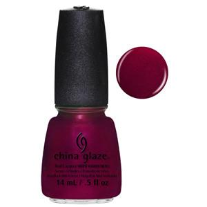 Red-Y & Willing China Glaze Red Shimmer Nail Varnish