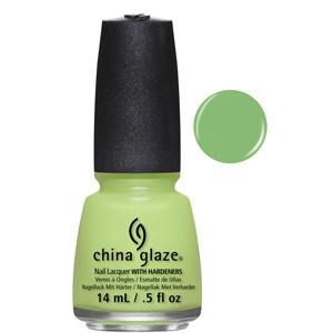 Shore Enuff China Glaze Light Green Nail Varnish