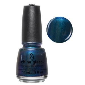Don't Get Elfed Up China Glaze Deep Emerald Shimmer Nail Varnish