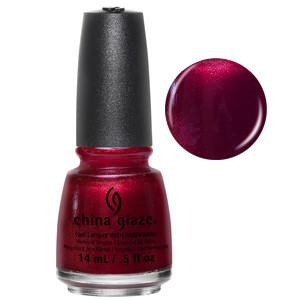 Peppermint To Be China Glaze Ruby Shimmer Nail Varnish