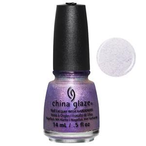 Don't Mesh With Me China Glaze Iridescent Lavender Shimmer Nail Varnish