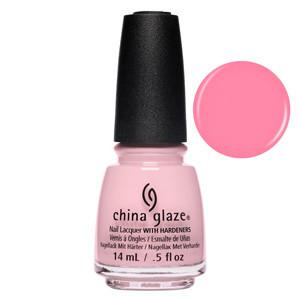 Belle Of A Baller China Glaze Gemstone Pink Nail Varnish