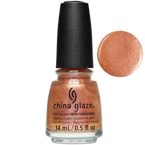 Better Late Than Nectar China Glaze Nail Varnish 14ml Copper Shimmer Shade