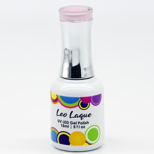 Leo Laque float Like A Pink Jellyfish UV LED Rubber Base Gel Polish 15ml